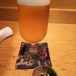 71046837 - 生ビール小とお通し