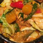 野菜を食べるカレーcamp - 1日分の野菜カレー 南インド風辛口ルー