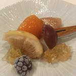 蔵元佳肴 いづみ橋 - 晩夏の果実のコンポート