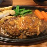 とおち - ハンバーグ定食