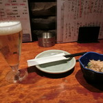 居酒屋 大将 - 小生370円、お通し360円