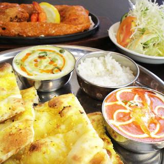 こだわりのインド&ネパール料理