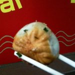 上海 焼き小籠包 - 焼き小龍包(4個)380円