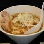 71051497 - 煮干し中華そばNORMAL(750円、斜め上から)