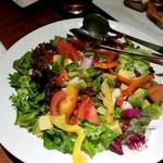 点 - アボカドとイタヤ貝のサラダ