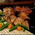 点 - 松阪ポークのロースト レモンペッパーソース