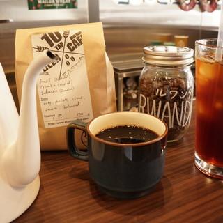 オリジナルブレンドのハンドドリップコーヒー!