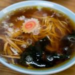 足立屋 - 2017.8 ラーメン(450円)