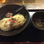 天下ご麺 大津店 - 蟹の冷やしつけ麺(850円)