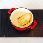 71054581 - 香ばしいとうもろこしの冷製スープ