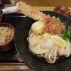 うどん和匠 - 料理写真:ちく玉天ぶっかけ定食