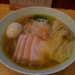 71055300 - チャーシューワンタン味玉塩soba1700円