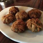上海食亭 - ニラ饅頭