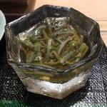 第三春美鮨 - 蓴菜