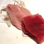 第三春美鮨 - メジマグロ 54kg腹上一番 大トロ 熟成7日目 定置網漁 青森県深浦  メジマグロ 45kg 背 赤身 熟成4日 定置網漁 北海道噴火湾