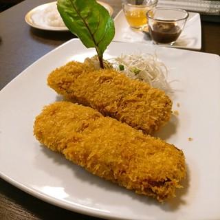 海坊厨 - ホエー豚の柔らかトンカツ 2種ソース添え