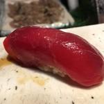 第三春美鮨 - メジマグロ 45kg 背 赤身 熟成4日 定置網漁 北海道噴火湾