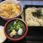盛うどん - 料理写真:ミニカツ丼+ざるうどん