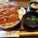 71058846 - うなぎ丼(並)+ご飯大盛り
