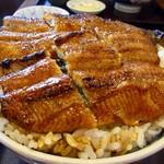 71058850 - うなぎ丼(並)+ご飯大盛り
