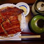 71058851 - うなぎ丼(並)+ご飯大盛り