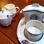 カフェ ティシャーニ - マリアージュフレールのレアなポット&カップ