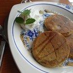 ゴスペル カフェ - Coriander Pancakes