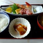 むつごろう - 料理写真:お刺身定食
