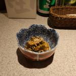 日本酒スローフード方舟 - セロリのハリハリ漬け