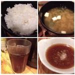 博多天ぷら たかお - ◆ご飯はツヤがあり美味しいですね