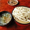 元祖田舎っぺうどん - 料理写真:塩肉ネギ(温かいつけ汁)もり