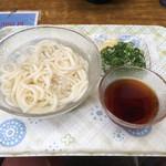 京橋 うどん - かちわり冷しうどん 340円