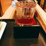 味の笛 - 本日は魚沼の酒鶴齢を。