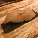 寿司茶屋 すし活 - 鯛の昆布〆