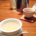 71066551 - 日替わりランチの「白菜と春雨のスープ」