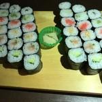 ほそ巻き寿司6本