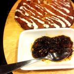 麺ジャラスK - 洋風いももちチヂミは自家製ラー油で!
