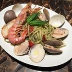 ナポリの食堂 アルバータ アルバータ - カモッリ風ジェノベーゼ