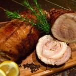 ナポリの食堂 アルバータ アルバータ - 豚肩ロースのポルケッタ風