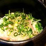 Mama-ru - 海鮮ネギトロの土鍋ご飯(1,300円)