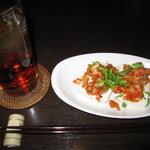 FGR DINER - アマレットジンジャー(\650)豆腐キムチ(\380)