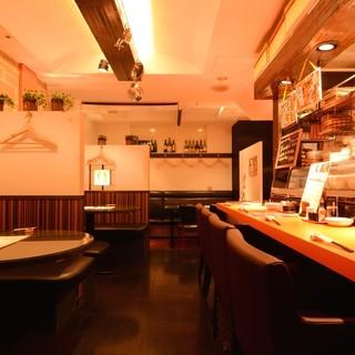 ◆お洒落な空間で楽しむビストロ料理はいかがですか?