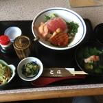とさ - 料理写真:室戸キンメ丼1600円