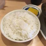 谷口食堂 - ご飯小150円