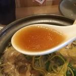 谷口食堂 - 鶏ガラ醤油スープ