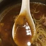 谷口食堂 - カレー粉投入