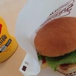 ピコピコ - チーズハンバーガー¥370