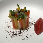 71074526 - モザイクづくりの野菜