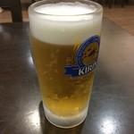 ホテルなはり レストラン - ドリンク写真:生ビール中520円