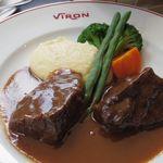 ブラッスリー・ヴィロン - 牛ホホ肉の赤ワイン煮
